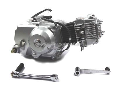 Motorblok,  70cc, semi-automaat, Lifan, 4-bak, zilver