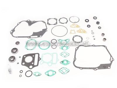 Revisieset, motorblok, SS50, C50, Dax, met naaldlagers