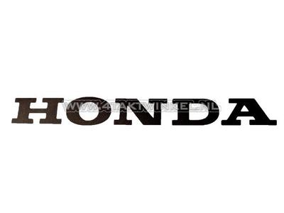 Sticker Honda universeel 22cm zwart