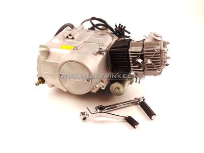Motorblok,  70cc, semi-automaat, YX, 4-bak, met startmotor