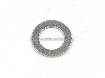 Pakking los, aluminium ring, 8mm, t.b.v. nokkenasketting geleiderolasje