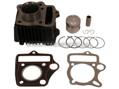 Cilinderset, met zuiger & pakking 50cc, AGM, Skyteam, Honda NT, imitatie