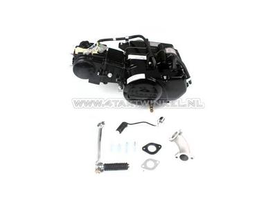 Motorblok,  50cc, handkoppeling, Lifan, 4-bak, zwart