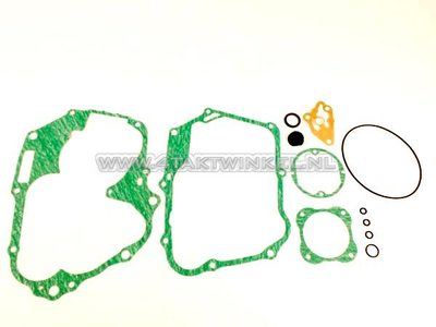 Pakkingset B, onderblok, SS50, CD50 hand koppeling, origineel Honda