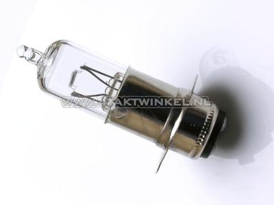 Koplamp P15d, duplo, 12 volt, 25-25 watt, o.a. SS50 imitatie fitting, halogeen