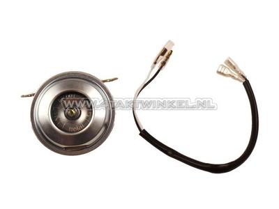 Toeter 6 volt, SS50, CD50 beugel, imitatie