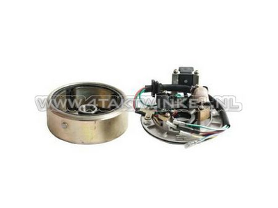 CDI ontsteking set 12v tap, C50 NT