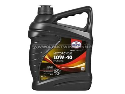 Olie Eurol 10w-40 semi-synthetisch 4 liter