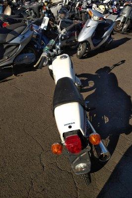 VERWACHT! Honda CB50 JX, Japans, 37095 km