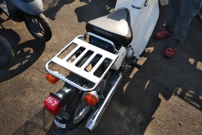 VERWACHT! Honda C50 NT Japans, groen, 6000 km