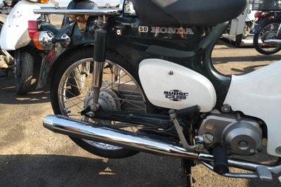 VERWACHT! Honda C50 NT Japans, groen, 6159 km