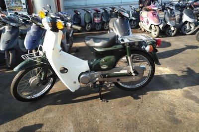 VERWACHT! Honda C50 NT Japans, groen, 5800 km