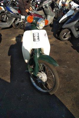 Honda C50 NT Japans, groen, 6717 km