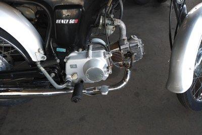 VERWACHT! Honda CD50s, Japans, 2718 km