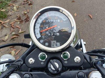VERKOCHT ! Mash Fifty, 50cc, zwart, 3531km