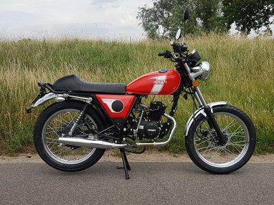 VERKOCHT! Mash Fifty, 50cc, rood, 1042km