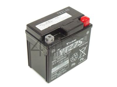 Accu 12 volt 6,3 ampere zuur, Honda Zoomer, YTZ7S Yuasa
