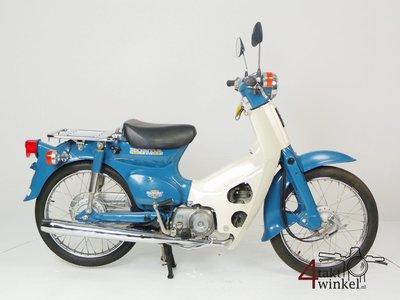 Honda C50 NT Japans, blauw, 4524 km, met kenteken