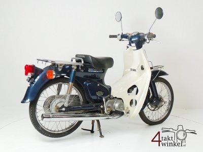 Honda C50 NT Japans, blauw, 8860 km
