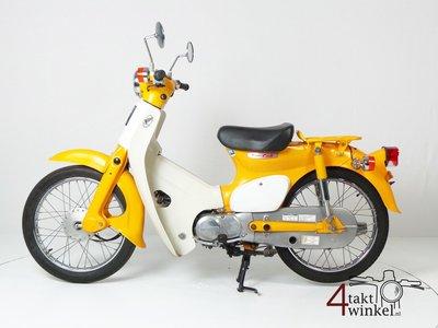 Honda C50 NT Japans, geel, 10118 km, met kenteken