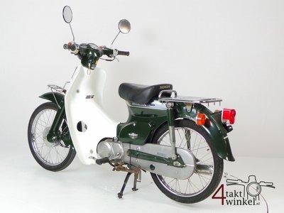 Honda C50 NT Japans, groen, 4756 km, met kenteken