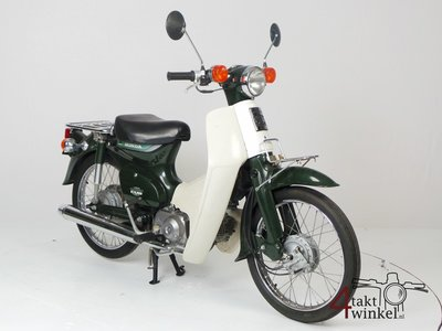 VERKOCHT: Honda C50 NT Japans, groen, 5800 km