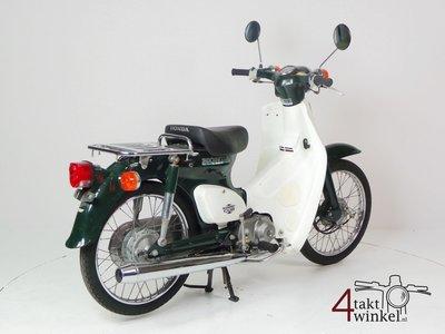 Honda C50 NT Japans, groen, 6000 km, met kenteken