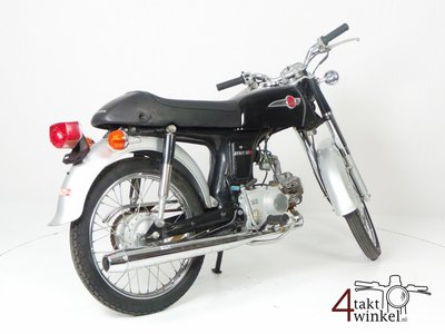VERKOCHT Honda CD50s, Japans, 2718 km, met kenteken