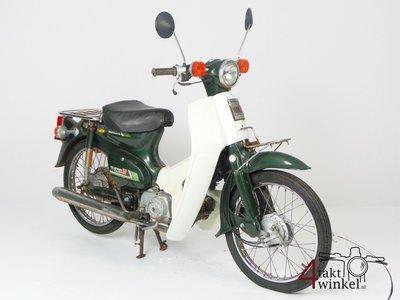 Honda C50 NT Japans, groen, opknapper 2