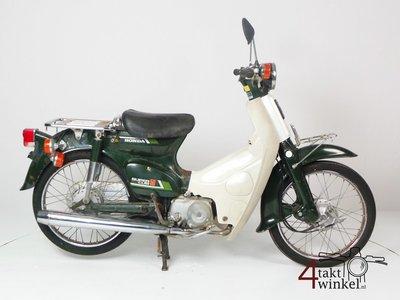 Honda C50 NT Japans, groen, opknapper 3