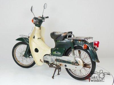 Honda C50 NT Japans, groen, opknapper 4