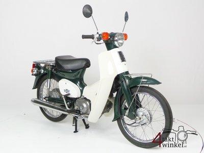 GERESERVEERD! Honda C50 NT Japans, groen, 6159 km
