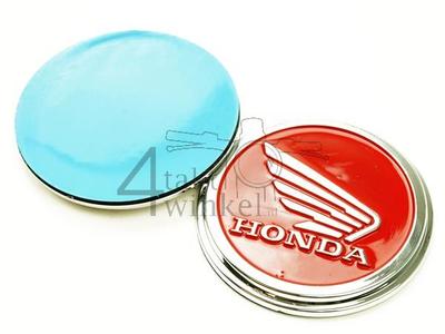 Embleem set, Honda wing, Rood
