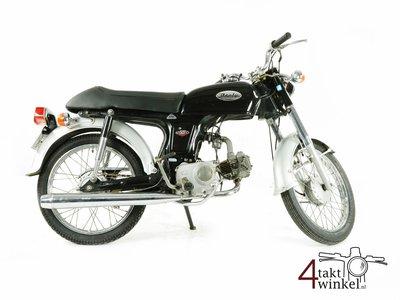 Honda CD50s benly Japans, Zwart, 22487 km, met kenteken