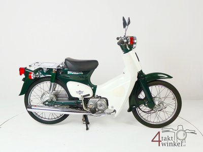 VERKOCHT ! Honda C50 NT Japans, groen, 6717 km