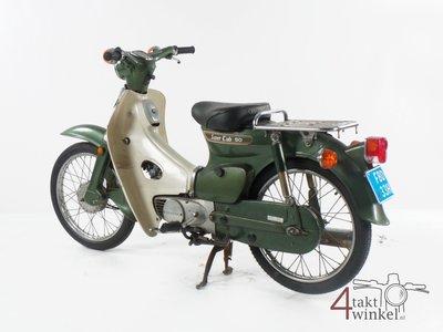 Honda C50 K1 Japans, 1527 km, met snorkenteken!