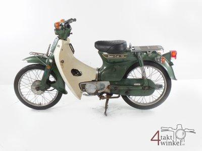 GERSERVEERD Honda C70 K1 Japans, groen, 16999km