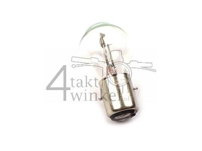 Koplamp BA20d, duplo,  6 volt, 20-20 watt, o.a. Dax