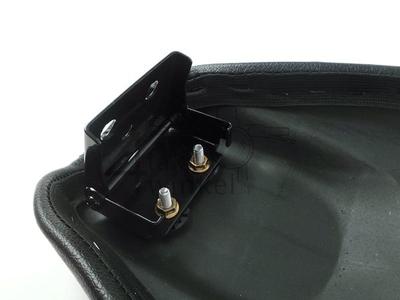 Buddy / zadel, C50 NT, C50 replica, Streetcub, lang, zwart