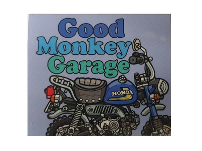 Good Monkey Garage Sticker #2
