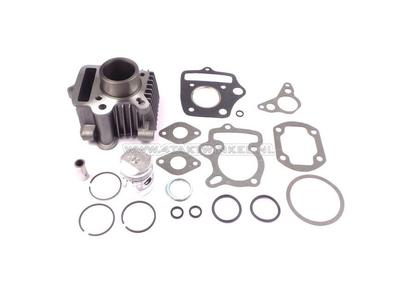 Cilinderset, met zuiger & pakking 50cc, Honda OT, aluminium