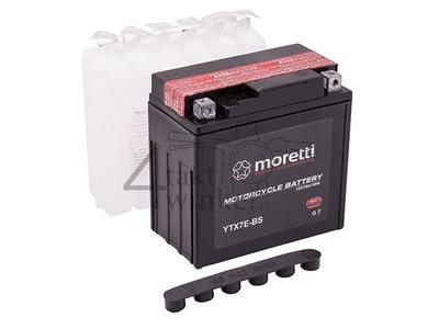 Accu 12 volt 7 ampere AGM, MTX7L-BS, o.a. Mash Fifty