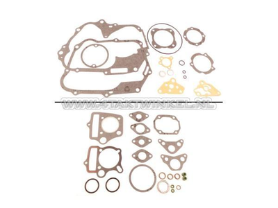 Pakkingset A-B, compleet,  70cc, 85cc, C50, SS50, Dax, A-kwaliteit