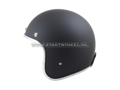 Helm MT, Le Mans, Mat zwart, Maten XS t/m XXL