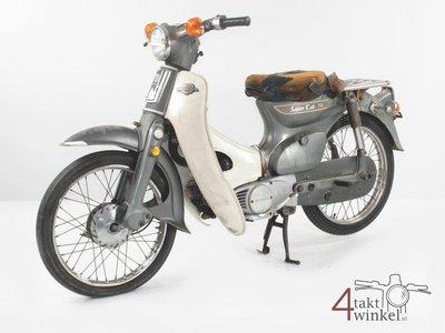 Honda C70 K1 Japans, grijs, 15719km