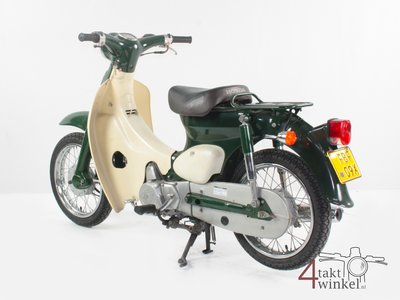 Honda Little cub, Japans, Groen, 7732km, met kenteken!