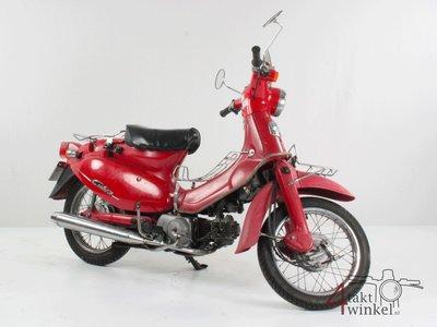 Honda Little Cubra 50, rood, 19851 km, Met Kenteken!