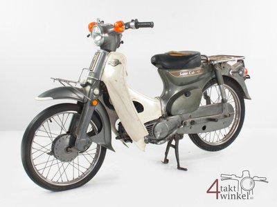 GERESERVEERD Honda C70 K1 Japans, grijs, 10406 km