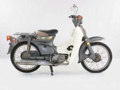 Honda C70 K1 Japans, grijs, 13977km