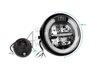 Koplamp compleet, LED, universeel, Mash Seventy five